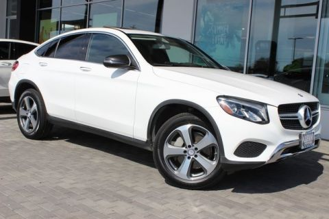 Certified Pre-Owned 2017 Mercedes-Benz GLC GLC 300 Coupe